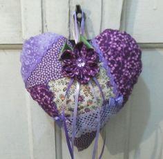lindo coração!! tecnica foundation patchwork