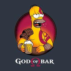 God Of Bar de Typhoonic - Camisetas Pampling.com