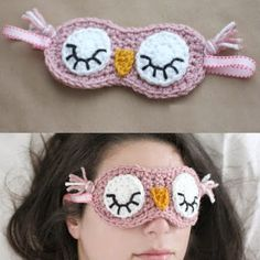 Crochet For Children: Crochet Sleepy Owl Mask