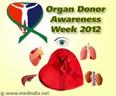 Organ Donor Awareness Week 2012 - 'Gifting Life'....in august will have to remember this for next year :)