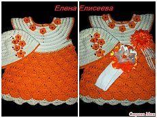 Мой второй заказик(платья для девочек). - Вязание - Страна Мам