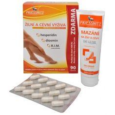 Priessnitz Žilní a cévní výživa 60 tob. + 30 tob. ZDARMA + Mazání AntiVarixy DeLuxe 125 ml ZDARMA