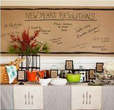 Decoração de Ano Novo para atrais boas energias