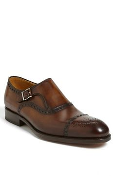 Magnanni 'Loja' Monkstrap Slip-On (Men) (Online Only) available at #Nordstrom