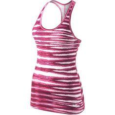 Wiggle Nederland | Nike Women's G87 Tiger Tank - FA14 Hardlopen - sporthemden