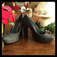ALDO gray suede high heel shoes Brand New Never worn ALDO gray suede high heels. Size 7 ALDO Shoes Heels