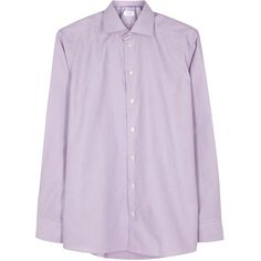 Eton Purple contemporary cotton shirt (11.835 RUB) ❤ liked on Polyvore featuring men's fashion, men's clothing, men's shirts, men's dress shirts, geometric mens shirts, mens purple shirt, mens dress shirts, mens purple dress shirt and mens cotton dress shirts