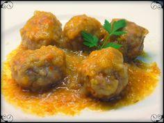 Una chapucillas y cocinillas en casa: Albóndigas de carne en salsa