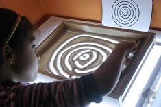 Grafomotricidad en la Mesa de Luz - Tarjetas Imprimibles -   Creciendo con Montessori