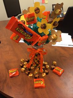 Reese's Peanut Butter Cup Bouquet