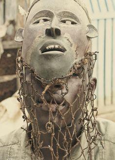BaKongo mask, Rep. of Congo
