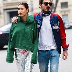 PATRICIA & GIOTTO. @PatriciaManfield & @GiottoCalendoli wearing #Vêtements & #Louisvuitton during #MFW #FW16 live on:  www.jaiperdumaveste.com  #Jaiperdumaveste #JPMV #NabileQuenum #StreetStyle #Style #Fashion #FashionWeek #Mode #PatriciaManfield #GiottoCalendoli #Milan