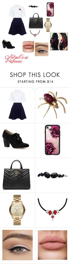 """""""not as it seems"""" by gemma-todd-1 ❤ liked on Polyvore featuring Paul & Joe Sister, Lands' End, Casetify, Gucci, Witchery, Michael Kors and Bling Jewelry"""
