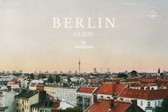 Lisbon Guide by Marta Greber