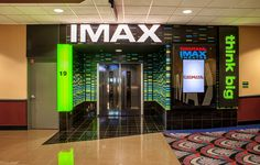 Cinemark Yipsilanti in Ann Arbor, Michigan is a cinema design remodel project by TK Architects, with a redesigned Lobby and concessions areas. IMAX large screen and entry. Cinema Architecture, Ann Arbor, Architects, Michigan, Projects, Design, Design Comics, Tile Projects