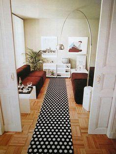 long hallway rug!
