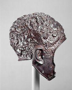 Helmet all'antica. Attributed to Filippo Negroli  (Italian, Milan, ca. 1510–1579).  Date:     ca. 1532–35.