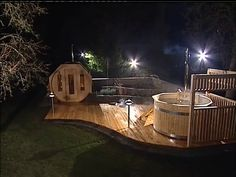 Outdoor Pool, Outdoor Spaces, Outdoor Living, Garden Swimming Pool, Swimming Pools, Sauna House, Sauna Design, Stock Tank, House On The Rock