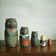 Matryoshka doll (the Three Bears)