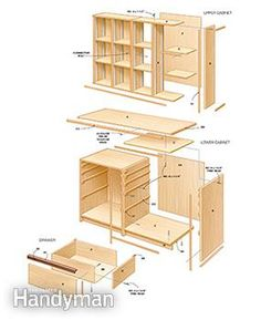 A cabinet designed with tools in mind