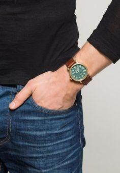 Timex - THE WATERBURY - Zegarek - braun