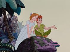 What Your Favorite Disney Movie Says About You | Whoa | Oh My Disney  Peter Pan and Wendy Darlingsley