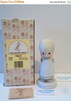 HAPPY SALES Precious Moments Figurine God Is by ALEXLITTLETHINGS