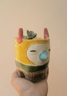 LLama pot - by • Miriam Brugmann •, via Flickr