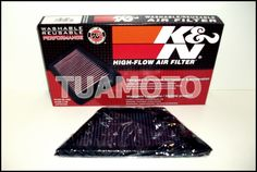 (4) Filtro De Aire K&n Para Kawasaki Ninja Zx14 Tuamoto !! - $ 1.220,00 en MercadoLibre