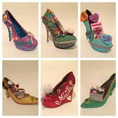 2016 JRS Muses Shoes - characters from The Wiz and The Wizard of Oz