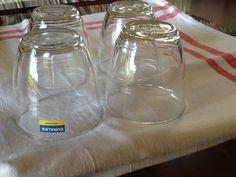 Antique bistrot glass duralex de la boutique Pizouboutik sur Etsy
