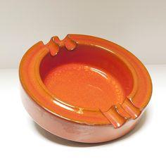 Asbak oranje
