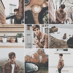 Connor Franta [Brown] Aesthetic ✘edit is mine