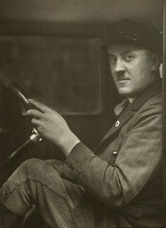 1929 taxista - August Sander