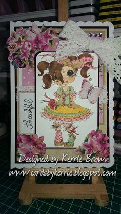Besties card by Kerrie Brown