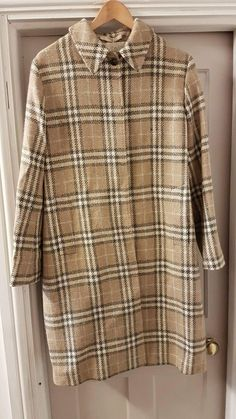 Burberry wool and cashmere coat size 12