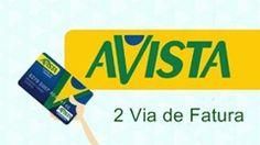 2 Via de Fatura do Cartão de Crédito Avista