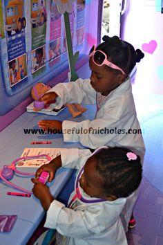 Doc Mobile Chicago #docmobile Using Doc McStuffins for education