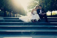 'Olga and Kam's Romantic Paris Elopement. Tala Nicole Photography Read more...@intimatewedding #elopements #pariswedding
