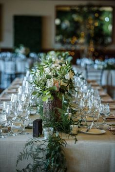 Two Beautiful Brides Say 'I Do' in Incline Village Got Married, Getting Married, Wedding Table Garland, Incline Village, Lake Tahoe Weddings, Console Tables, Wedding Gallery, Reception Decorations, What Is Like