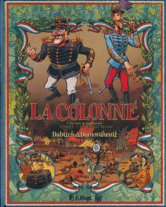 Colonne (La) -1- Un esprit blanc / Dabitch & Dumontheuil - Futuropolis