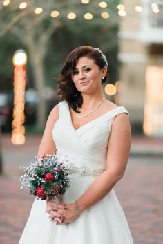 Plantation Hall at Haile | Gainesville Wedding Photographer | Christmas Wedding in Florida