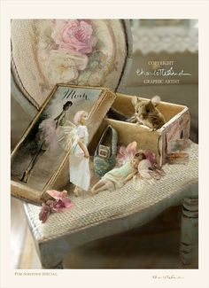 Fairy art print...valentines  Print only  by CharlotteBirdfairies