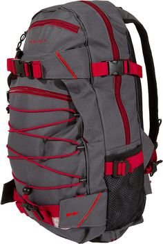 Forvert Ice-Louis, Backpack, grey-red #Backpack #AccessoriesMale #titus #titusskateshop