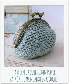 PATTERN Crochet Coin Purse {Model nº 14}