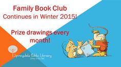 Turn in your reading logs this winter for a chance at monthly prizes!