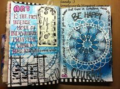 Lonely Cards: Art Journal