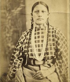 "Mrs. George Bent, Cheyenne, Darlington Ind Ty [Indian Territory]. ""Cosand & Mosser, Photographers. Heard Museum."