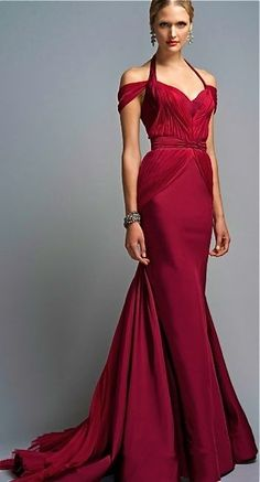 Zac Posen Red Gown of GORGEOUS!!!!! HT