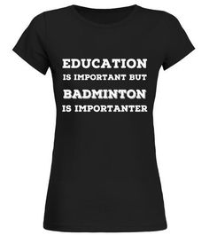 "# Joke Badminton T Shirts. Fun Gag Gifts for Fans & Players .  Special Offer, not available in shops      Comes in a variety of styles and colours      Buy yours now before it is too late!      Secured payment via Visa / Mastercard / Amex / PayPal      How to place an order            Choose the model from the drop-down menu      Click on ""Buy it now""      Choose the size and the quantity      Add your delivery address and bank details      And that's it!      Tags: Gifts for badminton"